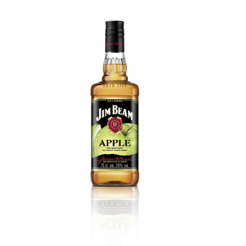 Jim Beam Apple - Bourbon Whiskey mit Apfel-Likör 35% Vol. 700ml