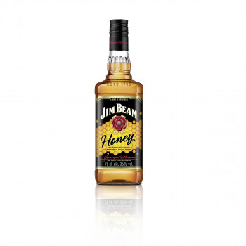 Jim Beam Honey - Bourbon Whiskey mit Honig-Likör 35% Vol. 700ml