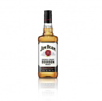 Jim Beam White Kentucky Straight Bourbon Whiskey 40% Vol. 700ml