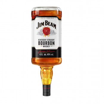 Jim Beam White Kentucky Straight Bourbon Whiskey 40% Vol. 4500ml