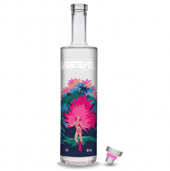 KARNEVAL VODKA Premium Vodka 38%Vol. 500ml