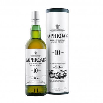 Laphroaig 10 Jahre Islay Single Malt Scotch Whisky 40% Vol. 700ml