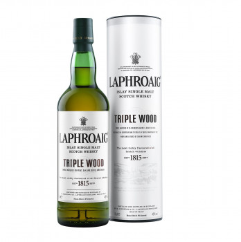 Laphroaig Triple Wood Islay Single Malt Scotch Whisky 48% Vol. 700ml