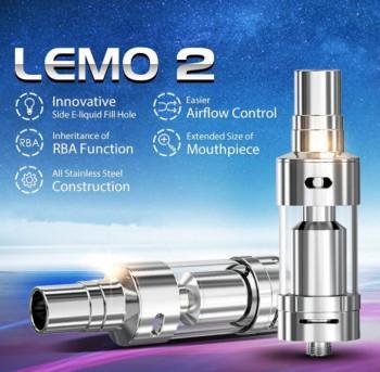 eLeaf LEMO 2 II Selbstwickelverdampfer silber