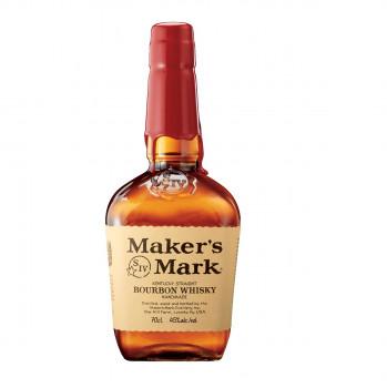 Maker's Mark Handgemachter Kentucky Straight Bourbon Whisky 45% Vol. 700ml
