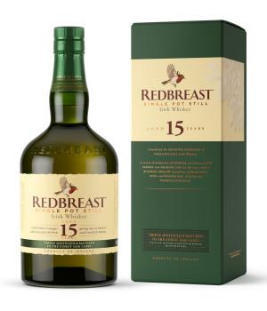 Redbreast 15 Jahre Single Pot Still Whisky 46% Vol. 700ml