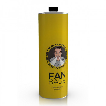 Steamshots Fan Base 750ml Nikotinfrei Basisliquid