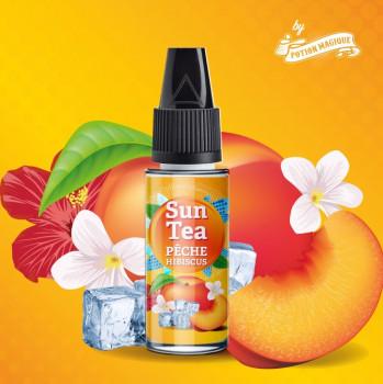 Pfirsich Hibiscus 10ml Aroma by Sun Tea