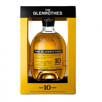 The Glenrothes 10 Jahre Speyside Single Malt Scotch Whisky 40% Vol. 700ml