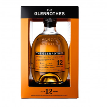 The Glenrothes 12 Jahre Speyside Single Malt Scotch Whisky 40% Vol. 700ml