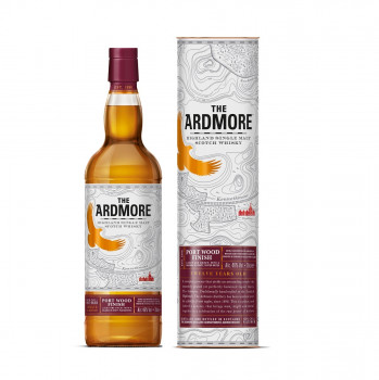 Ardmore 12 Jahre Port Wood Finish Single Malt Whisky 46% Vol. 700ml