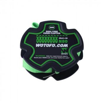 Wotofo Dual Core Fused Clapton Wire 20 feet/spool Wickeldraht